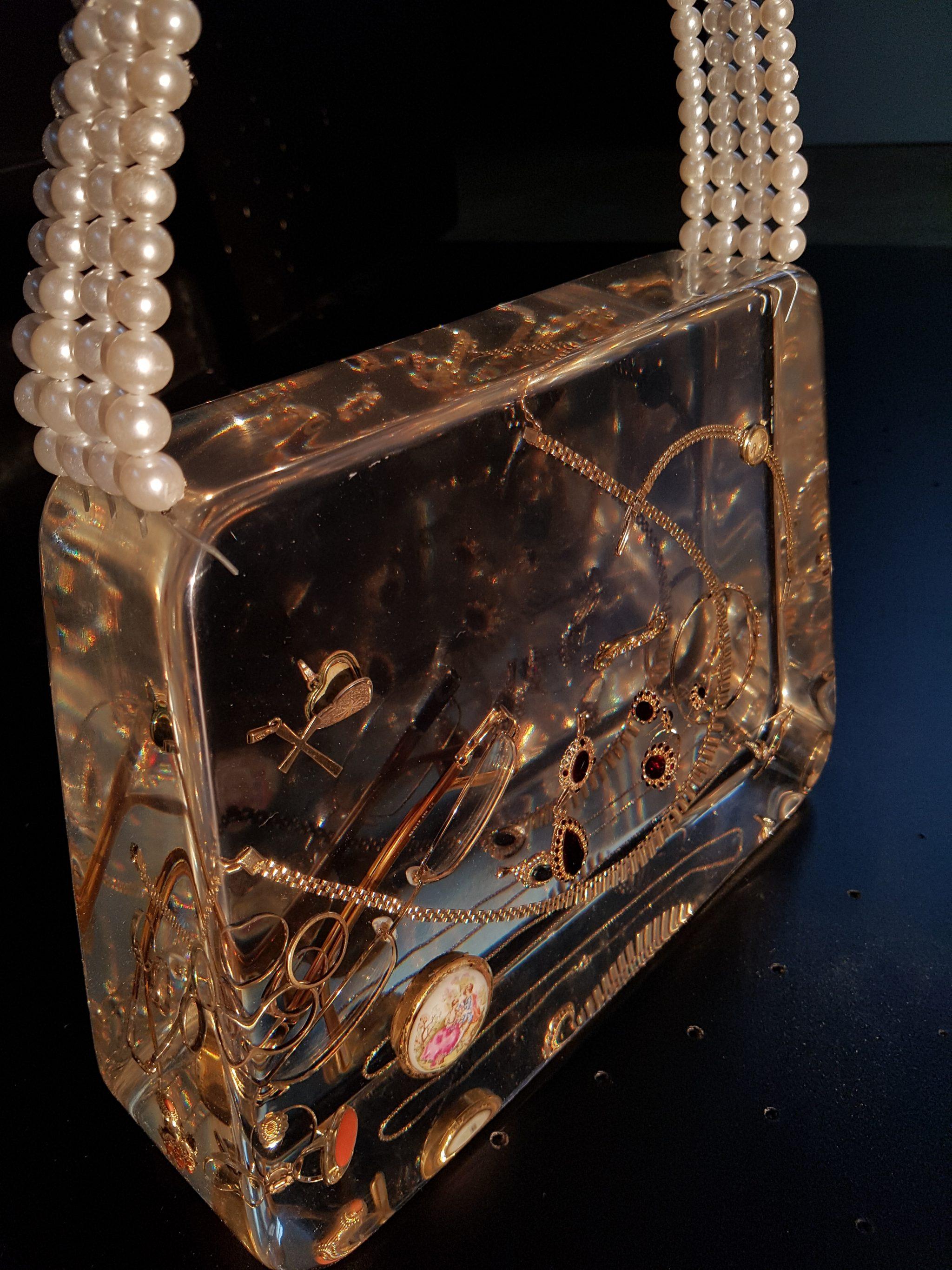 epoxy jewelry bag