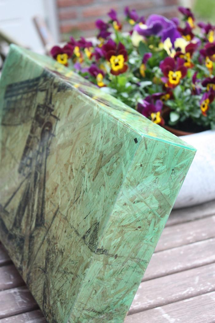 Foto prints op hout