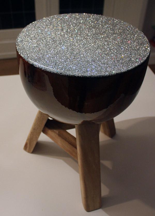 Handgemaakte koffietafel