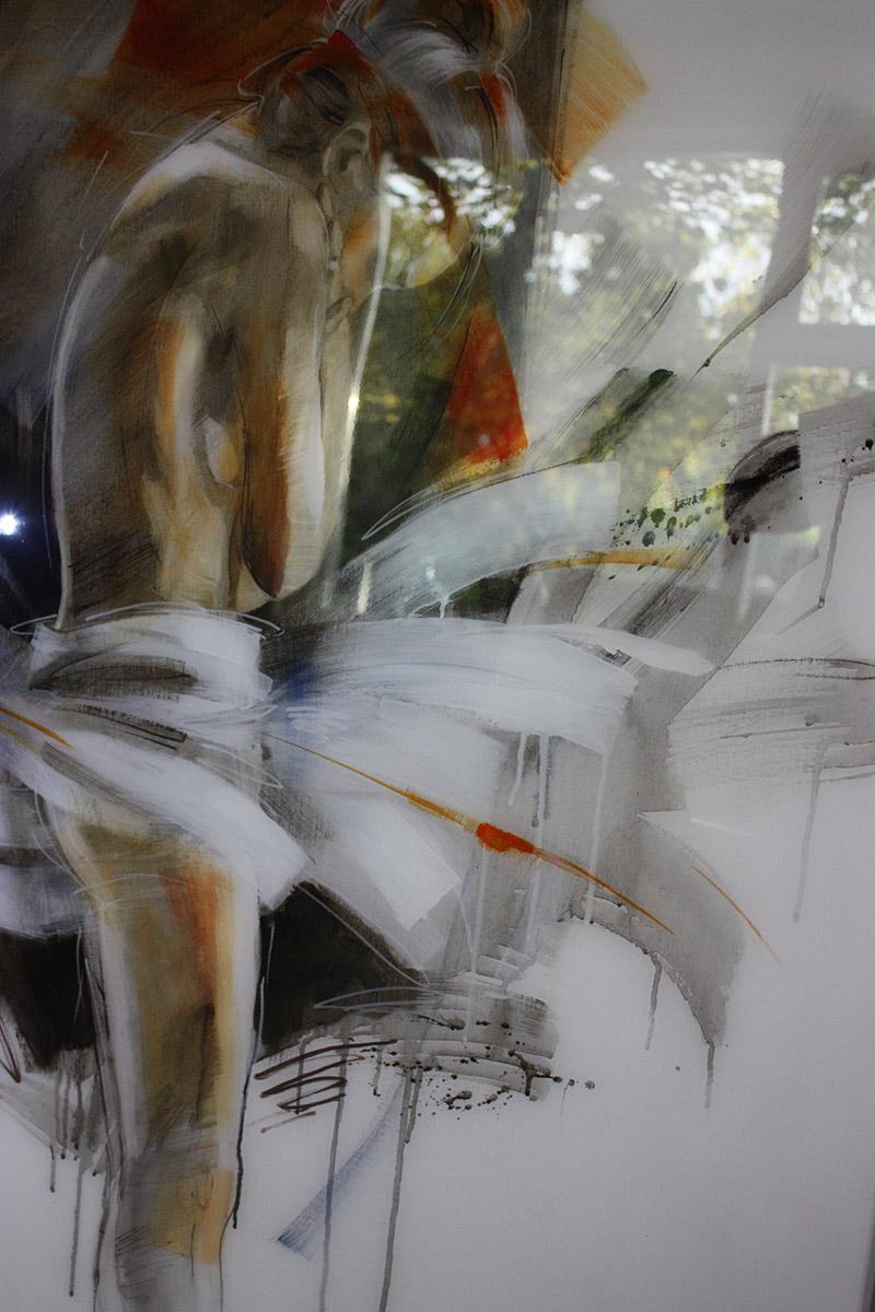 In epoxy gegoten aquarel